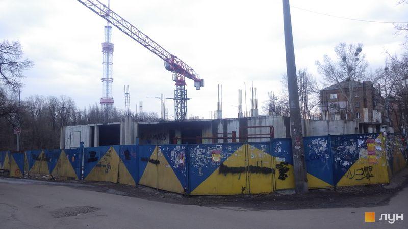 Ход строительства ЖК UNO City House, , февраль 2019