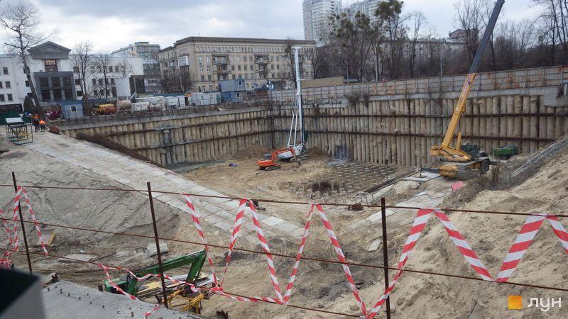 Ход строительства ЖК Crystal Park Tower, , март 2019