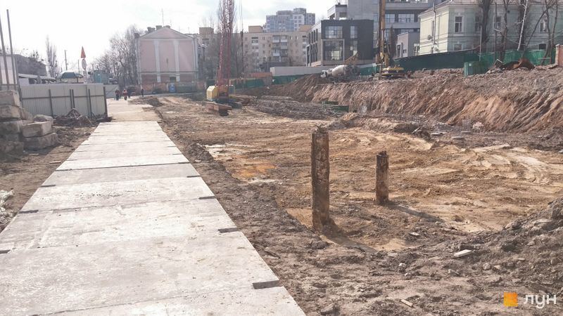 Хід будівництва ЖК Diadans, , березень 2019
