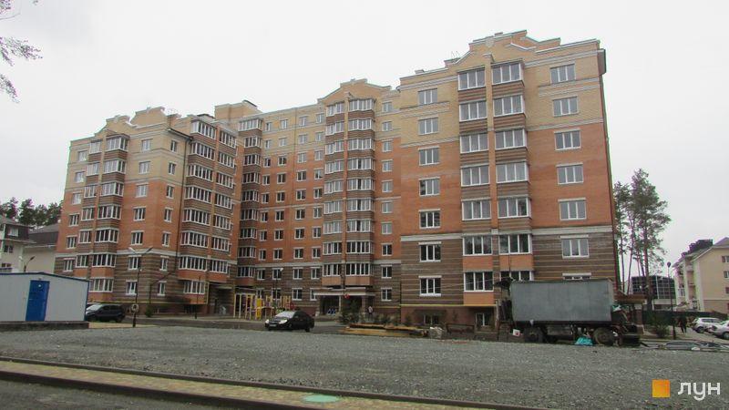 Хід будівництва ЖК Янтарний, 3 будинок, березень 2016