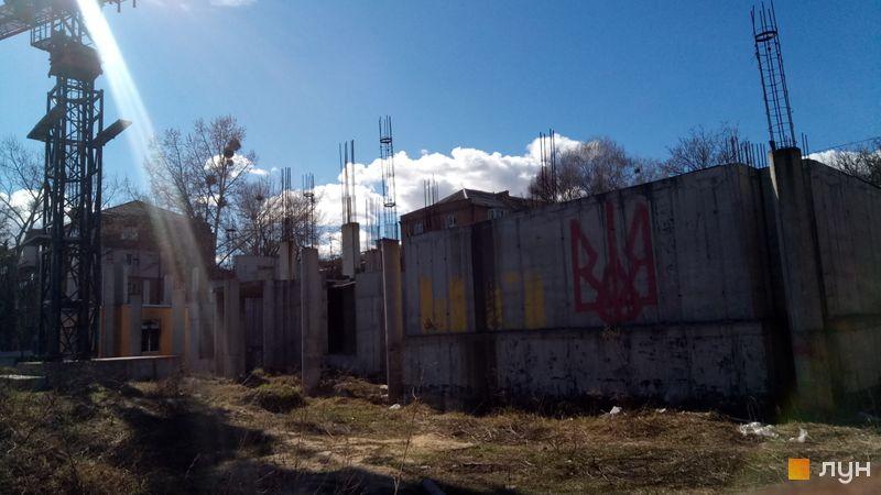 Ход строительства ЖК UNO City House, , март 2019