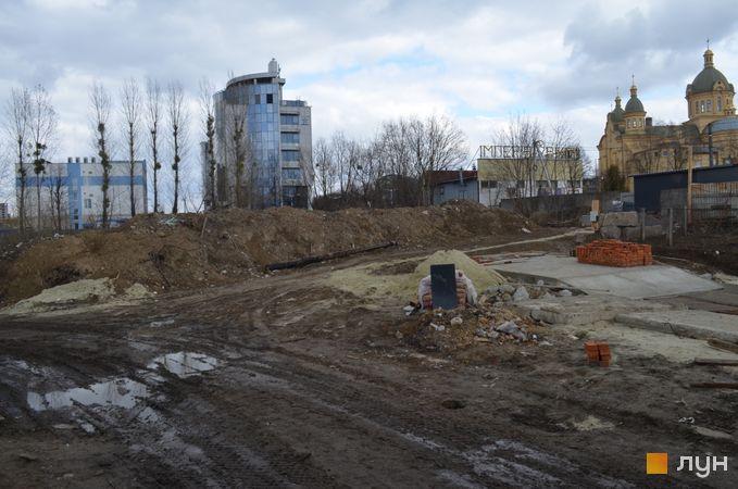 Ход строительства ЖК Resident Hall, , март 2019