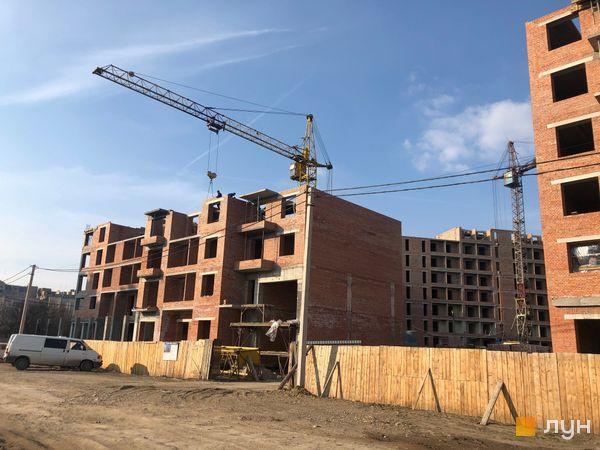 Ход строительства ЖК Квартал Галицкий, , апрель 2019