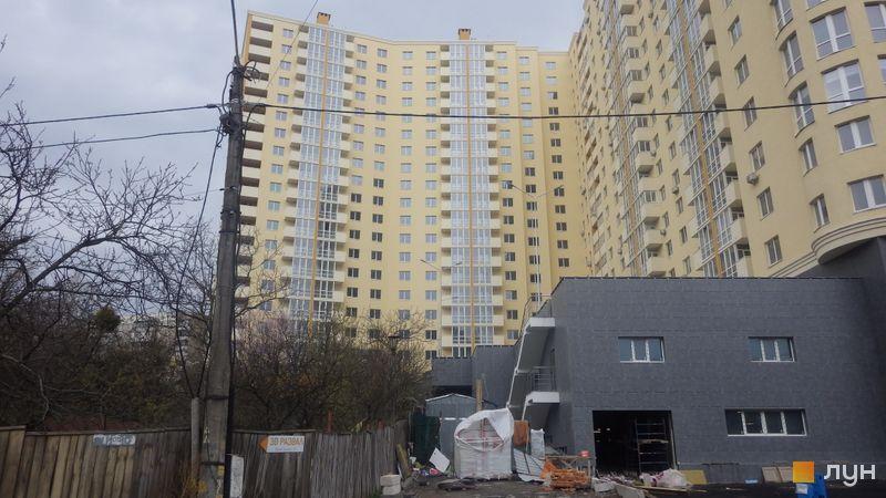 Ход строительства ЖК Новомостицкий, 4, 5 секции, апрель 2019