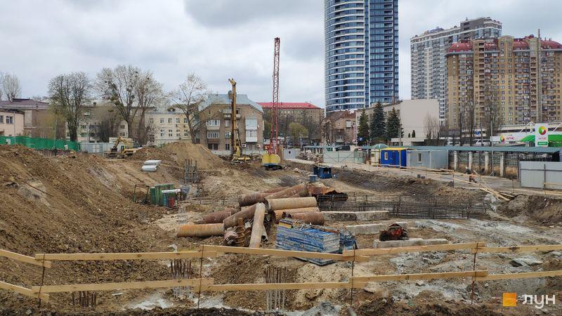 Хід будівництва ЖК Diadans, , квітень 2019