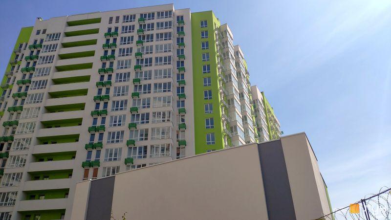 Хід будівництва ЖК Нивки-Парк, 4 будинок, квітень 2019
