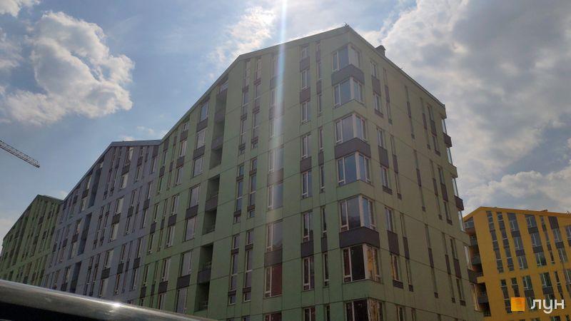 Хід будівництва ЖК Комфорт Таун, 7 черга (будинок 5), квітень 2019