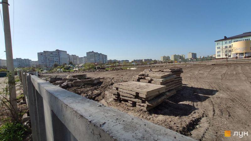 Ход строительства ЖК Банковский 2, , апрель 2019