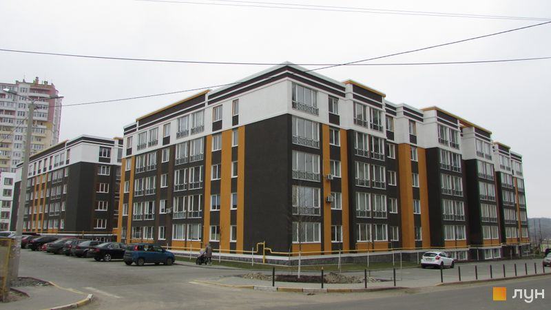 Ход строительства ЖК Фортуна-2, ул. Джерельная, 2, март 2016