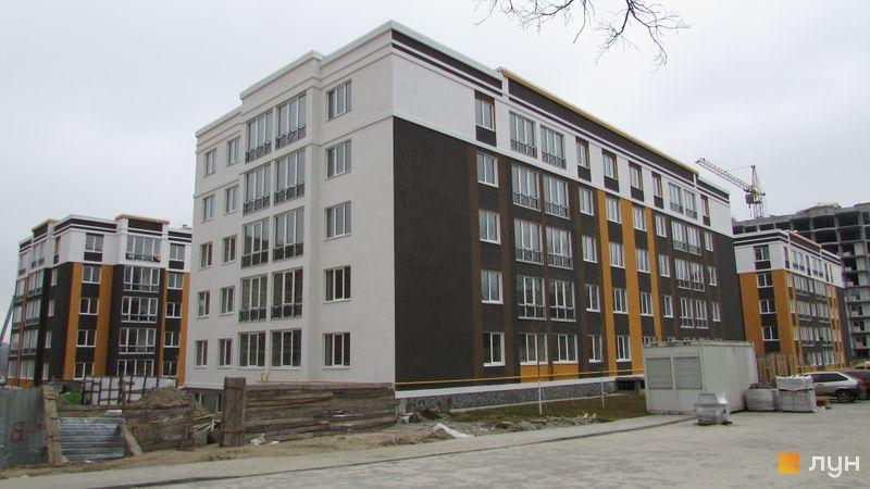 Ход строительства ЖК Фортуна-2, ул. Джерельная, 4, март 2016