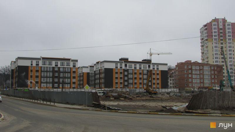 Ход строительства ЖК Фортуна-2, ул. Джерельная, 6, март 2016