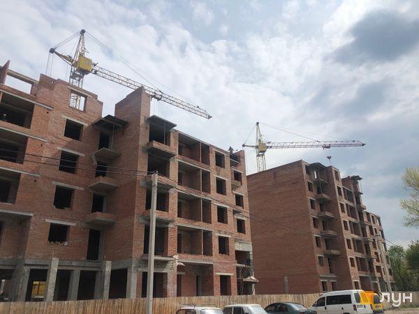 Ход строительства ЖК Квартал Галицкий, , май 2019