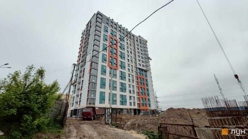 Ход строительства ЖК Crystal Avenue, 1 дом, май 2019