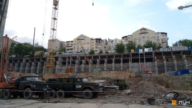 Ход строительства ЖК Mirax, 5-7 дома, май 2019