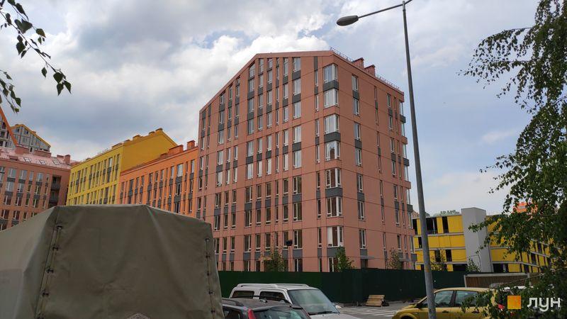 Хід будівництва ЖК Комфорт Таун, 7 черга (будинок 3), травень 2019