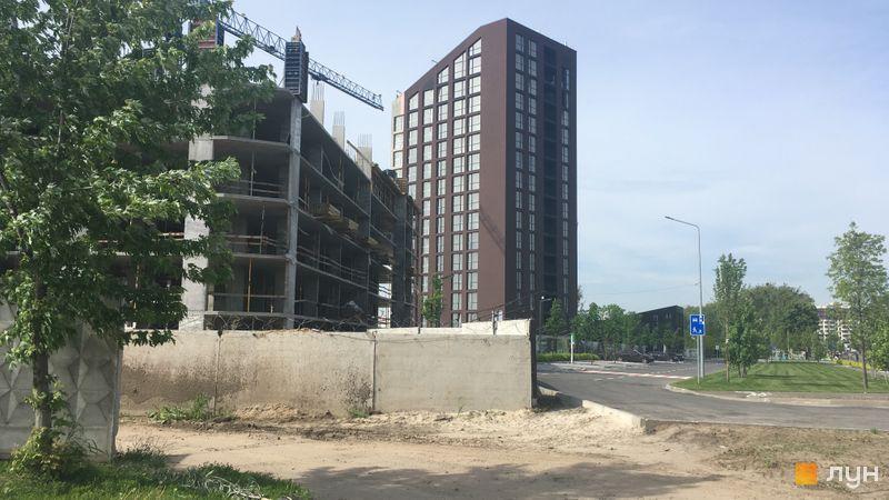 Хід будівництва ЖК Paradise Avenue, Будинок 1, травень 2019