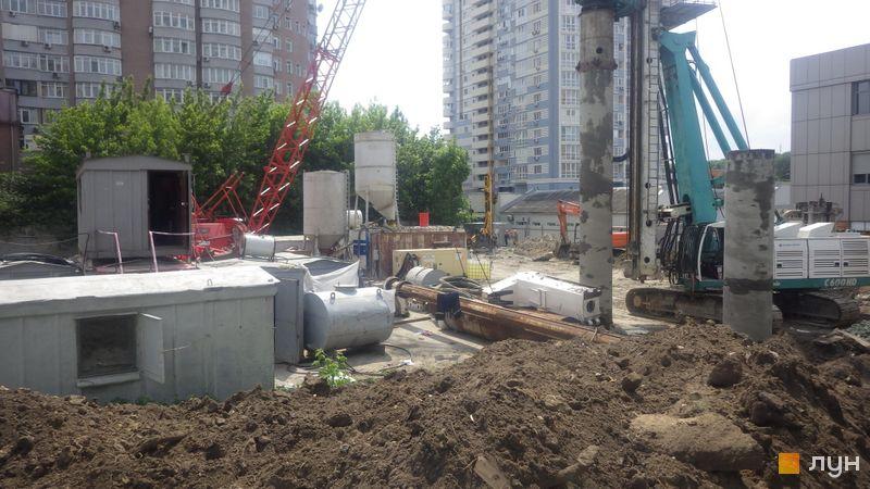 Хід будівництва ЖК А136 Highlight Tower, , травень 2019