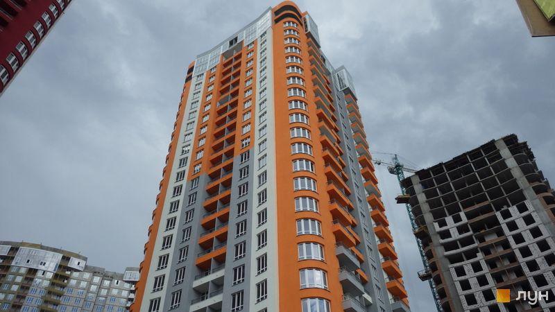 Хід будівництва ЖК Каховська, 3 будинок, травень 2019