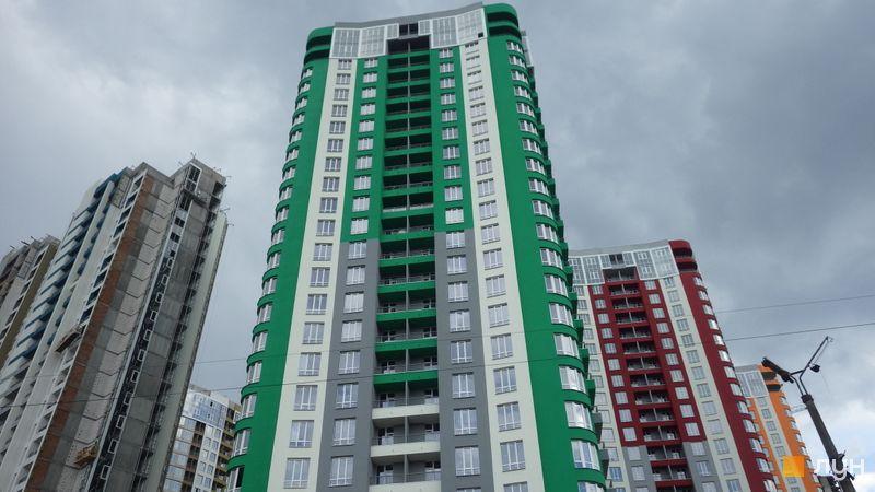 Хід будівництва ЖК Каховська, 1 будинок, травень 2019