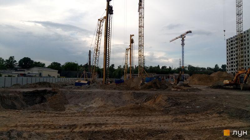 Ход строительства ЖК Navigator, , май 2019