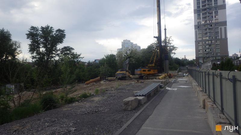 Хід будівництва ЖК Новопечерські Липки, , травень 2019