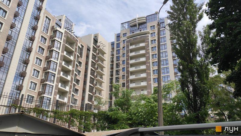 Ход строительства ЖК Бульвар Фонтанов, 4 дом, июнь 2019
