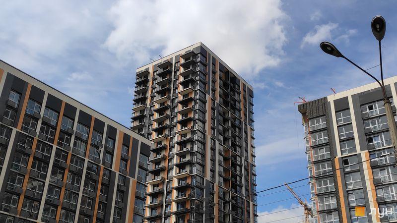 Ход строительства ЖК Французский квартал 2, 8 дом, июнь 2019