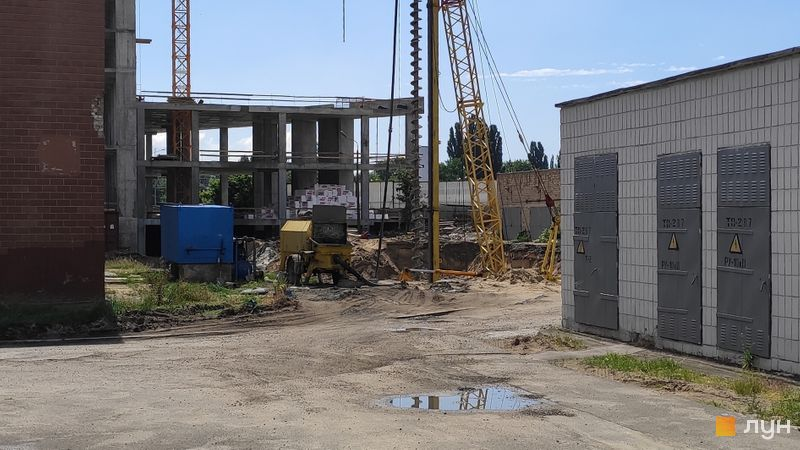 Ход строительства ЖК Olympic Park, , июнь 2019