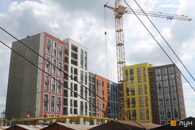Ход строительства ЖК Семицвет, 11 дом, июнь 2019