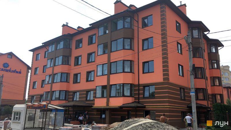 Хід будівництва Волошковий, 10 будинок, червень 2019
