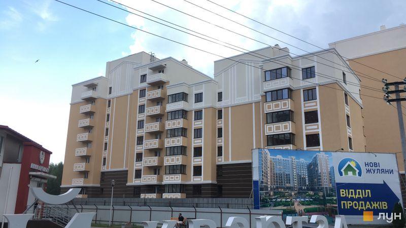 Ход строительства ЖК Квартал Крюковщина, 3, 4 дома, июнь 2019