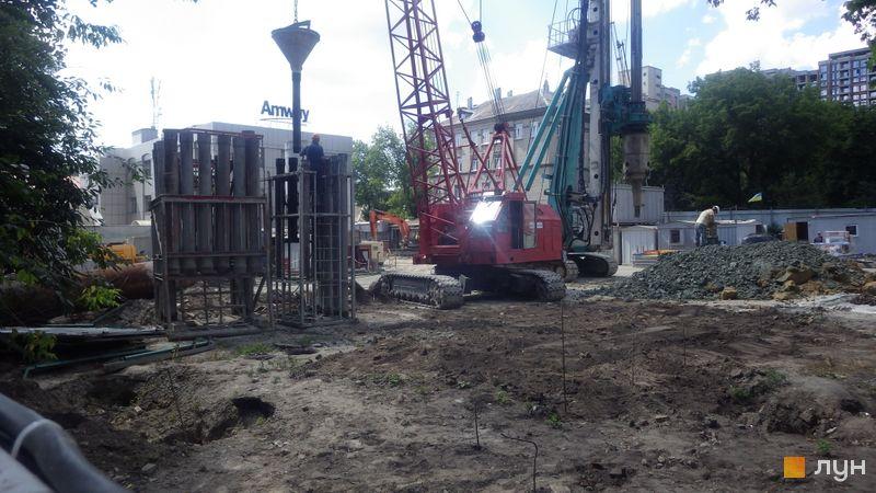 Хід будівництва ЖК А136 Highlight Tower, , червень 2019