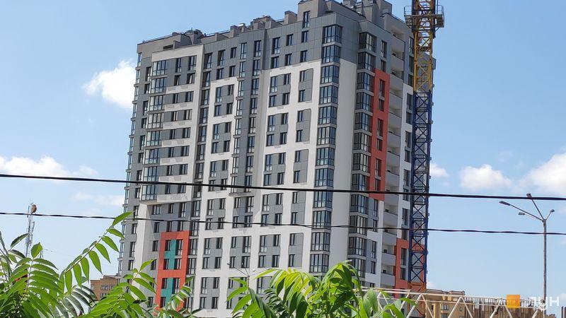 Ход строительства ЖК Crystal Avenue, 1 дом, июнь 2019