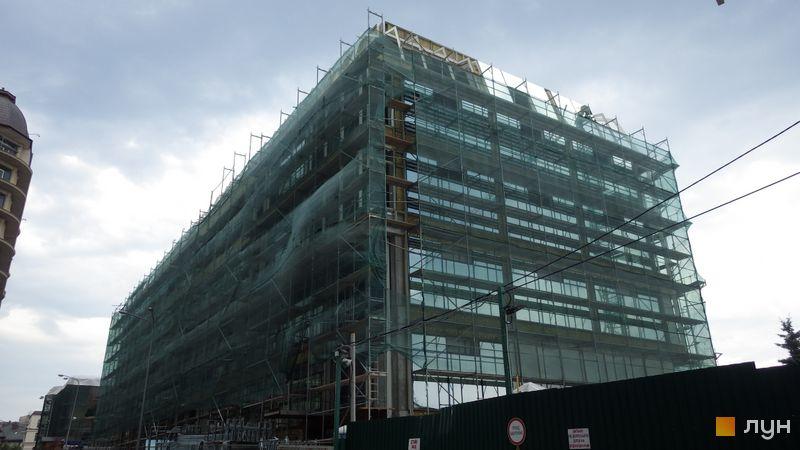 Ход строительства ЖК Renaissance Residence, Дом 5, июль 2014