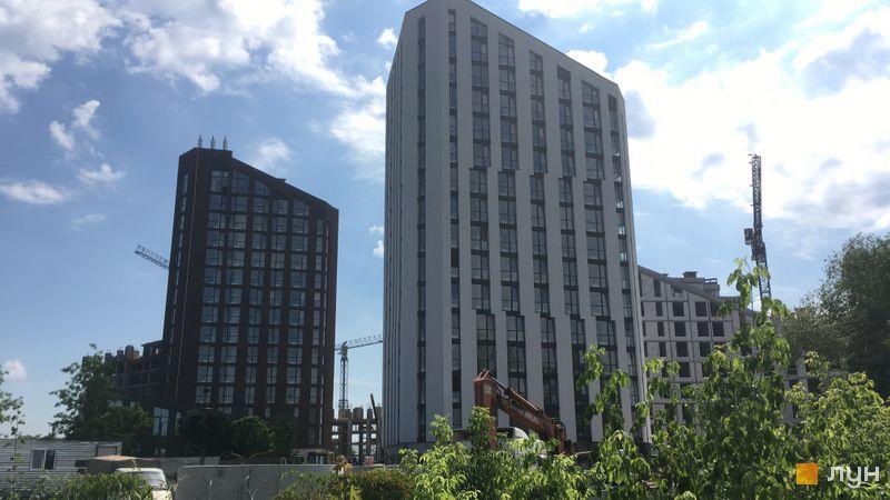 Хід будівництва ЖК Paradise Avenue, 1, 2 будинки, червень 2019