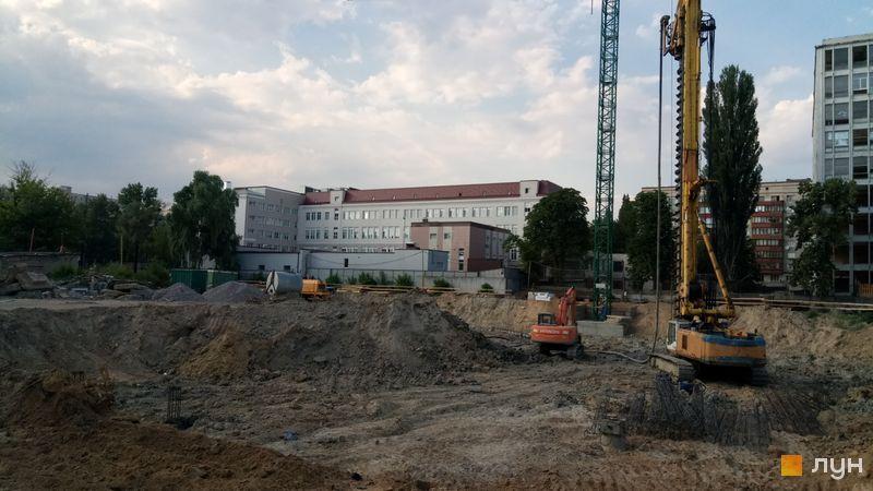 Хід будівництва ЖК OK'LAND, , червень 2019