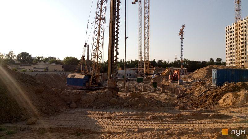 Ход строительства ЖК Navigator, , июнь 2019