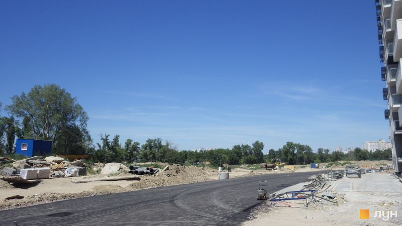 Ход строительства ЖК Заречный, , июнь 2019