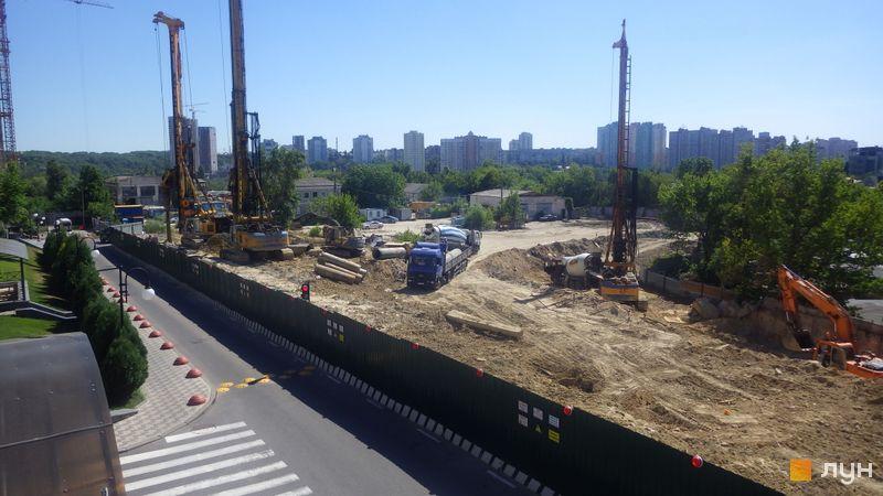 Хід будівництва ЖК Новопечерські Липки, , червень 2019