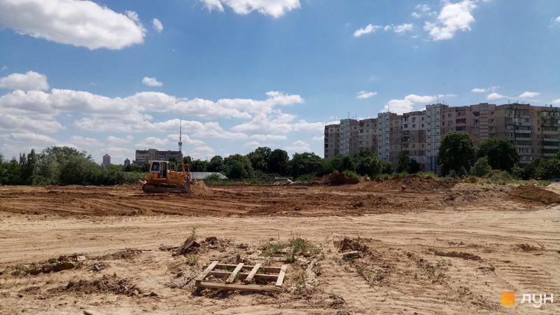 Ход строительства Місто Квітів. Парковий квартал, , июнь 2019