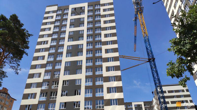 Ход строительства ЖК Chehov Парк Квартал, Дом 2, июнь 2019