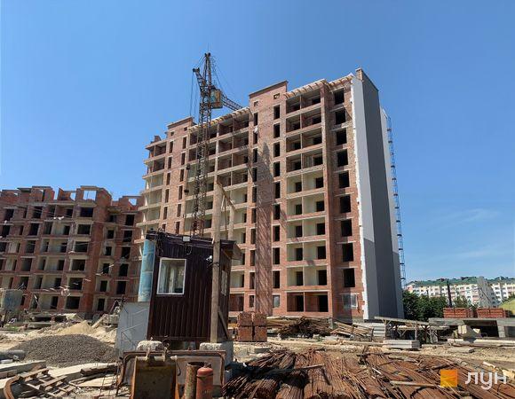 Ход строительства ЖК Квартал Галицкий, , июль 2019