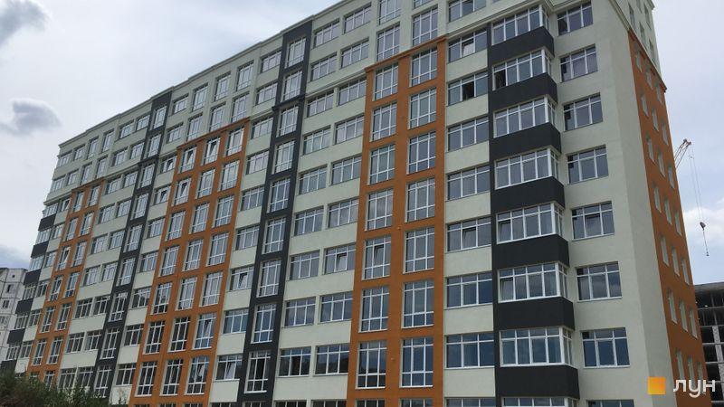 Хід будівництва ЖК Стожари, 1 будинок, липень 2019