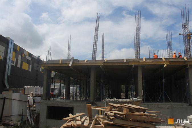 Ход строительства ЖК Семицвет, 10 дом, июль 2019