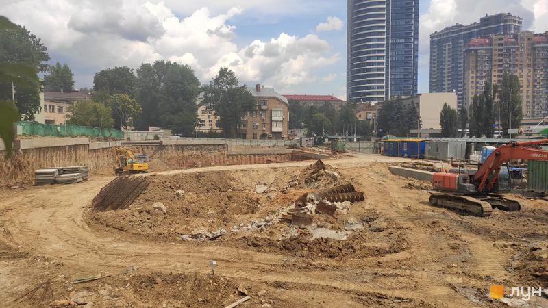 Хід будівництва ЖК Diadans, , липень 2019