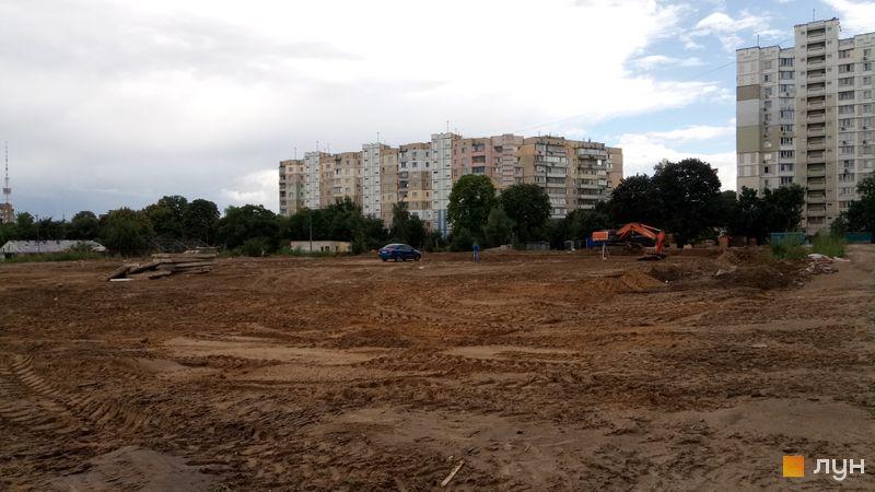 Ход строительства Місто Квітів. Парковий квартал, , июль 2019