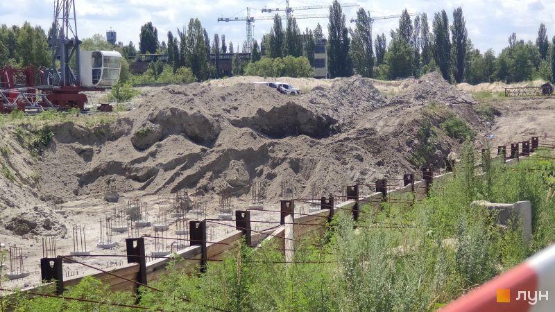 Ход строительства ЖК Причал 8, , июль 2019