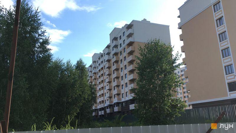 Ход строительства ЖК Квартал Крюковщина, 5-7 дома, июль 2019