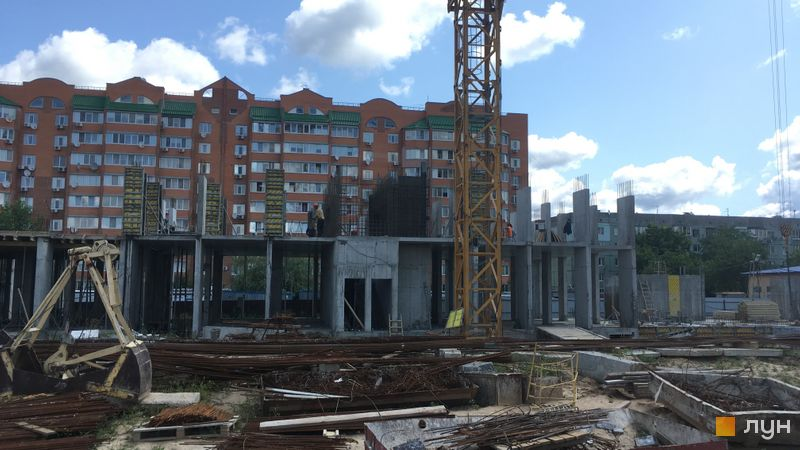 Ход строительства ЖК Новые Теремки, 4 очередь (дома 12-14), июль 2019