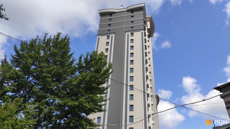 Хід будівництва ЖК Новопечерський Квартал №5, 1 будинок (секція 1), липень 2019